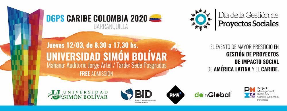 Día de la Gestión de Proyectos Sociales (DGPS Caribe Colombia 2020)