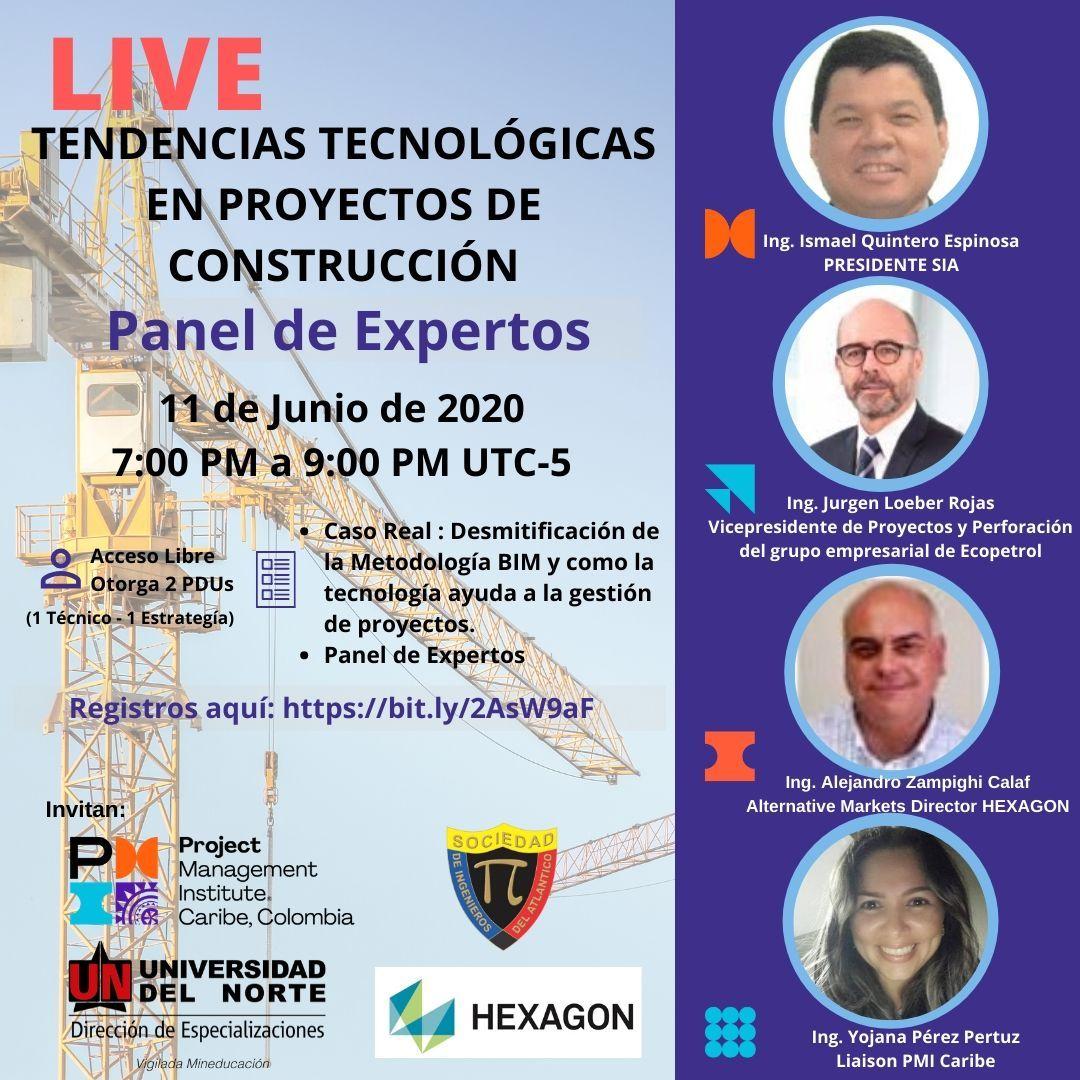 Tendencias Tecnológicas en Proyectos de Construcción - Panel de Expertos
