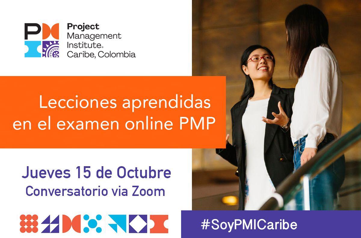 Conversatorio Lecciones Aprendidas en el examen online PMP