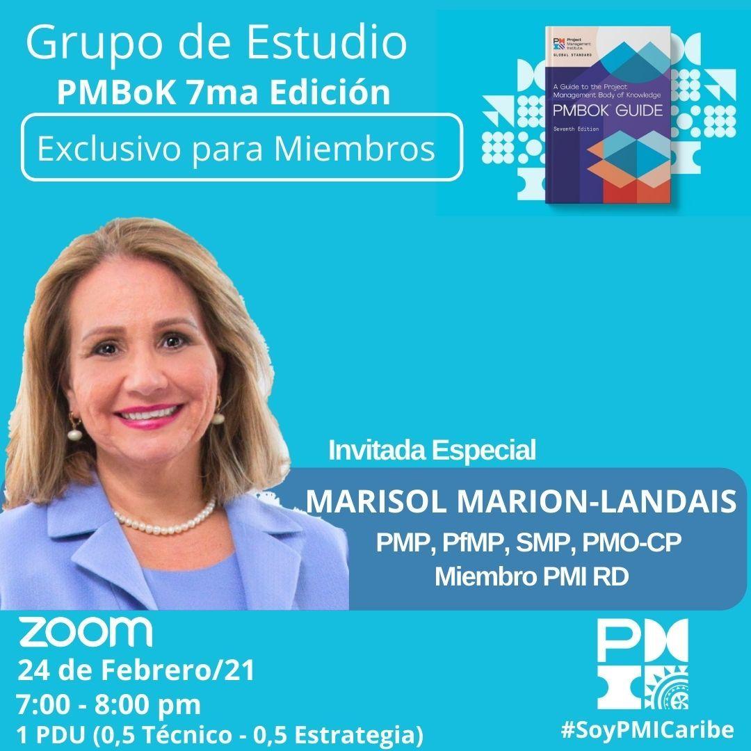Grupo de Estudio PMBoK 7ma Edición - SOLO MIEMBROS